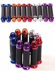 """UNIVERSAL RUBBER GEL HAND GRIPS For 7/8"""" HANDLEBAR MOTORCYCLES Motorized Bicycle"""
