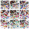 Assorted Color Acrylic Rhinestone Crystal Flat Back Beads Navette Round Teardrop