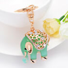 Pink/Green Elephant Pendant Gift Car Key Chain Women's Handbag Keychain Fashion
