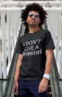 I Don't Give a Schnitzel T Shirt Oktoberfest Prost Beer Germany T-Shirt Drinking