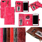 Removable Leather Wristlet Bag Wallet Case Multifunction Card Clip Hand Strap