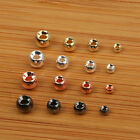 Tungsten Beads 100 High Quality Beads Gold Silver Nickle Copper Black Nickle