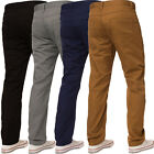New Mens ENZO Straight Leg Regular Fit Denim Coloured Jeans All Waist Sizes