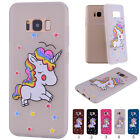 Thin Soft TPU Silicone Unicorn Pattern Back Case Cover for iPhone/Samsung Bumper