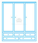 fully assembled wardrobes