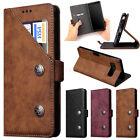 Luxury Leather Magnetic Flip Wallet Card Case Cover For Samsung Galaxy Note 8
