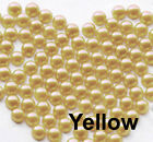 1000 pcs Half Round Flat Back Pearl Beads Multi Color Size 2mm 3mm 4mm 5mm 7mm фото