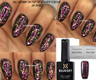 Bluesky Gel Polish Galaxy 02 Chameleon Flakes Nail UV LED Soak Off, ANY 2 = FILE
