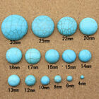 10pcs/lot Turquoise Stone Cabochons Beads Flatback For Ring Jewelry DIY Making