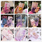 For ZTE ZMAX PRO/Z988/Z981 Glitter Heart Water Liquid Quicksand Phone Case Cover