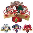 CHRISTMAS CARDS SPECIAL POP UP 3D OPEN FREE 1ST CLASS DELIVERY GREETING CARDS