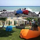 Outdoor Portable Beach Lazy Fast Inflatable Sofa Bed Air Sofa Sleeping Bag W