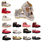 Girls Infant Toddler Kids Wedding Bridesmaid Party Shoes Size 3-7