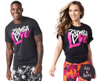 Zumba ~ Love Graphic Tee - Unisex Sizing - size XS/S & M/L, Black - Free Ship