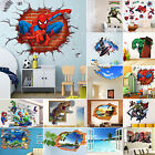 3D Wall Stickers Removable Kids Nursery Xmas Room Home Decor Mural Art Decal New