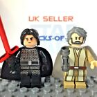 STAR WARS Minifigure Old Luke Skywalker Kylo Ren Scar The Last Jedi Custom Lego £1.69 GBP