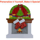 MAXORA Fireplace Stockings Family of 2 3 4 5 6 Personalized Christmas Ornaments