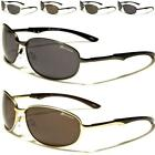 DESIGNER SUNGLASSES SPORT METAL PILOT WRAP GOLF RETRO VINTAGE UV400 MENS LADIES