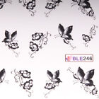 Tattoo Sticker Aufkleber Nail Nagelsticker Nailart Watertransfer Wasserlöslich