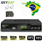 FTA DVB-S2 H.265 ACM Dual Dish Tuner Digital Satellite Receiver IPTV LAN Youtube