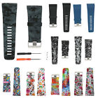 S/L Silicone Replacement Watch Band Strap +Tool Kit for Fitbit Surge Wristband
