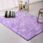 Fluffy Rugs Anti-Skid Shaggy Area Rug Carpet Rectangle Floor Mat Home Bedroom US