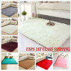 Kyпить Fluffy Rugs Anti-Skid Shaggy Area Rug Carpet Rectangle Floor Mat Home Bedroom US на еВаy.соm