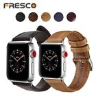 Genuine Leather Replacement Band for Apple Watch Series 1 2 3  38mm/42mm S/M