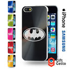 Batman Action Figure Mask Logo Engraved CD Phone Cover Case - iPhone & Samsung