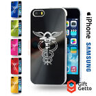 Contabilidade Symbol Logo Engraved Phone CD Cover Case - iPhone & Samsung