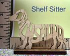 DACHSHUND Dog laser cut Magnet, Hanger (Ornament) or Shelf Sitter