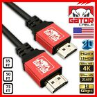 Ultra HD High Speed UHD HDMI 4K Cable v1.4 3D 1080P Ethernet HDTV PS4 XboxOne 4K
