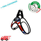 """DOG HARNESS FOR SMALL DOGS """"NATIONS"""" UK 100% Made In Italy TRE PONTI"""