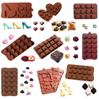 Silicone 11 Shapes Cake Decorating Moulds Candy Cookies Chocolate Baking Mold C