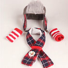 Elves Clothes Suit for Christmas Elf Hat Clothing Set Doll Skirts Dress Toys