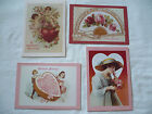 Set of 12 Victorian Valentine Post Cards, Hearts, Love, Current, Inc. 1991