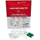 Eldon Home Blood Group/Type Test/Testing Kit - CE Marked