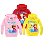 Внешний вид - Lovely Frozen Anna Elsa Kids Girls Princess Cartoon Pullover Sweatshirt Hoodies