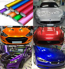 Full Roll Glossy Metallic Vinyl Film For Home Car-Styling Stickers Bubble Free