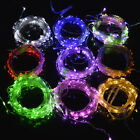 IR Remote Control Battery Operated LED String Lights 10M 5M Holidays Decoration