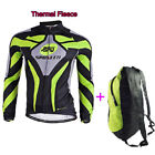 Winter Men's Cycling Jerseys Long Sleeve Traveling Floding Bag Bike Bicycle Fit