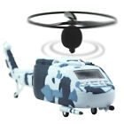 Unique Helicopter Digital Alarm Clock Snooze Camouflage Color & Flying Propeller