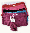 Angelina Women's Sexy Lace Lingerie Panties/Shorts w Lined Cloth,12 Pack,Small