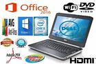 DELL LAPTOP LATiTUDE WINDOWS PRO CORE I5 2.50GHz WIN DVD WIFI PC HD COMPUTER