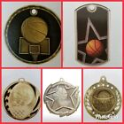 Basketball Medals with Ribbons, awards