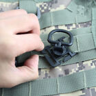 EDC Tactical 360 Rotating D-Ring Buckle MOLLE Webbing Locking Carabiner Backpack