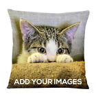 Personalised Cat / Dog / Pet / Any Picture Cushion Cover - 40cm x 40cm