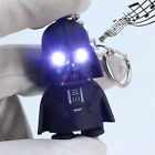 Newest Cool Light Up LED Star Wars Darth Vader With Sound Keyring Keychain Gift $0.98 USD on eBay