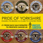 PRIDE OF YORKSHIRE ENAMEL FOOTBALL PIN BADGE - VARIOUS CLUBS
