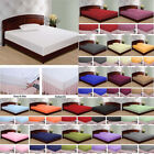 1000 Count 100 Percent Egyptian Cotton Solid Sheet Set All Colors/Sizes image